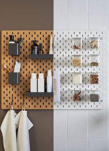 9. Scandinavisch - Skådis pegboard - Ikea - v.a. €17,95 - Mooi om kruiden georganiseerd aan op te hangen! Maar eigenlijk is dit bord multifunctioneel! Er zijn echt ontzettend veel mogelijkheden. Denk aan het opbergen / organiseren van gereedschap, badkamerartikelen, pennen en andere bureauaccessoires enz.!