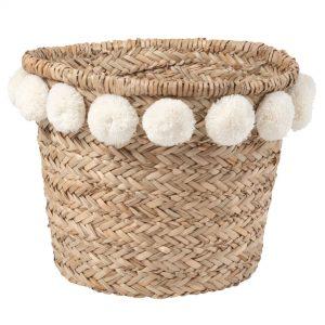 5. Bohemian mand - Maisons du Monde - €22,99 - Dit is een leuke mand voor op de babykamer! Stop er luiers, sokjes of andere kleine babyprulletjes in.