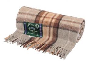 7. Plaid - Highland Tartan Tweeds - €47,50