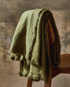 landelijk, mosgroen plaid - 45,99 Zara Home -